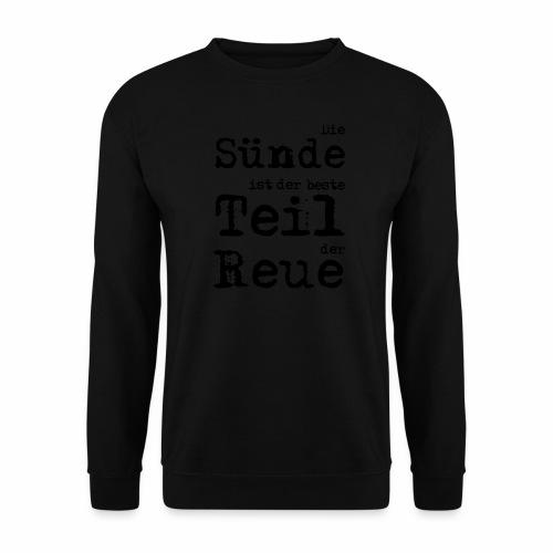 Die Sünde - Männer Pullover