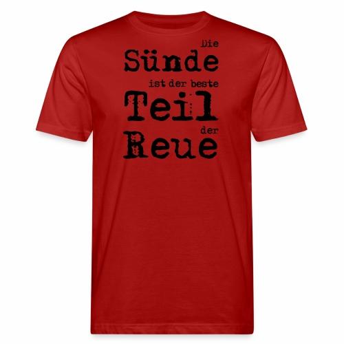 Die Sünde - Männer Bio-T-Shirt