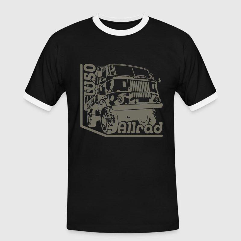IFA LKW W50 4x4 Allrad - Männer Kontrast-T-Shirt