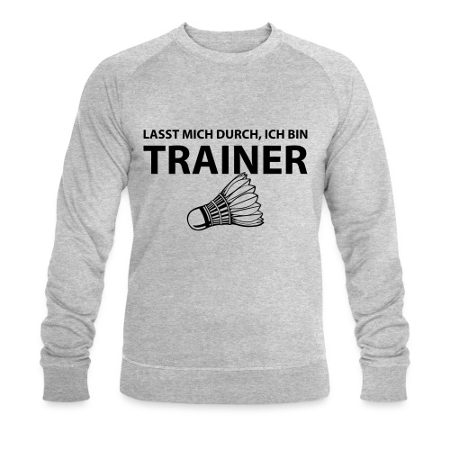 Trainer T-Shirt - Männer Bio-Sweatshirt von Stanley & Stella