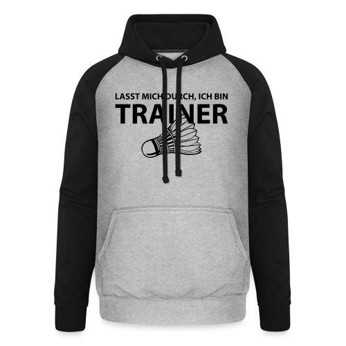 Trainer T-Shirt - Unisex Baseball Hoodie