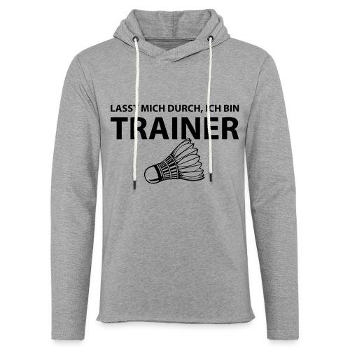 Trainer T-Shirt - Leichtes Kapuzensweatshirt Unisex