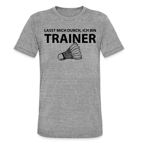 Trainer T-Shirt - Unisex Tri-Blend T-Shirt von Bella + Canvas