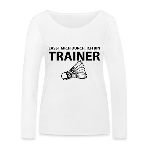 Trainer T-Shirt - Frauen Bio-Langarmshirt von Stanley & Stella