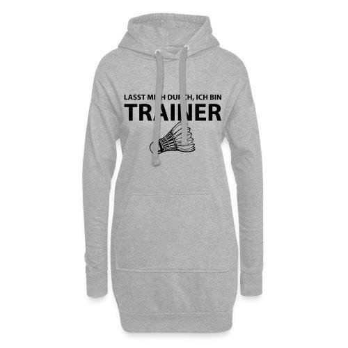 Trainer T-Shirt - Hoodie-Kleid