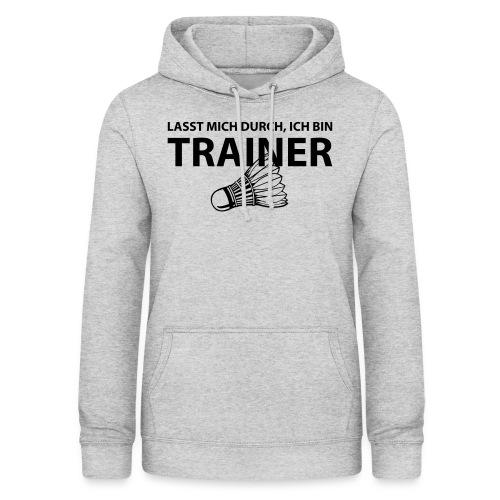 Trainer T-Shirt - Frauen Hoodie