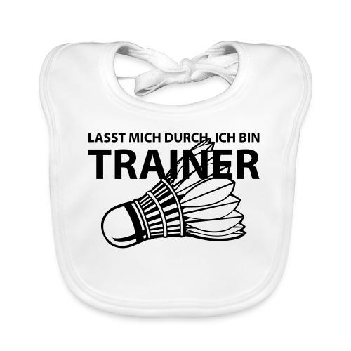 Trainer T-Shirt - Baby Bio-Lätzchen