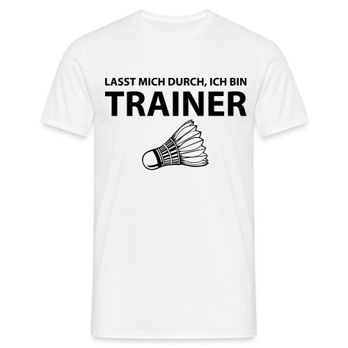 Trainer T-Shirt - Männer T-Shirt
