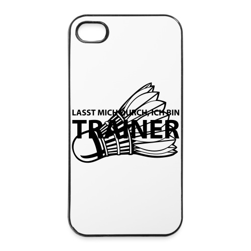 Trainer T-Shirt - iPhone 4/4s Hard Case