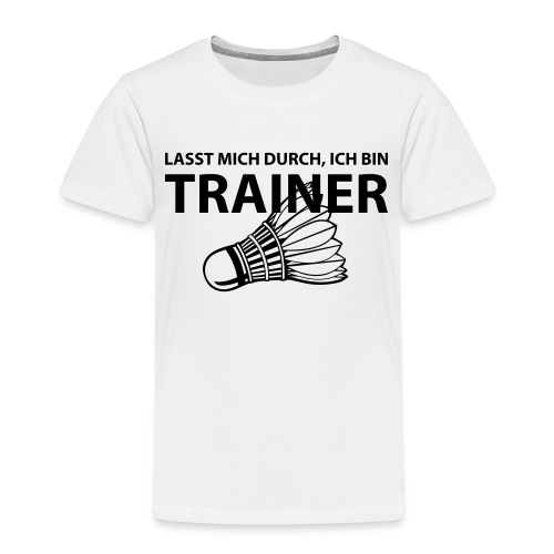 Trainer T-Shirt - Kinder Premium T-Shirt
