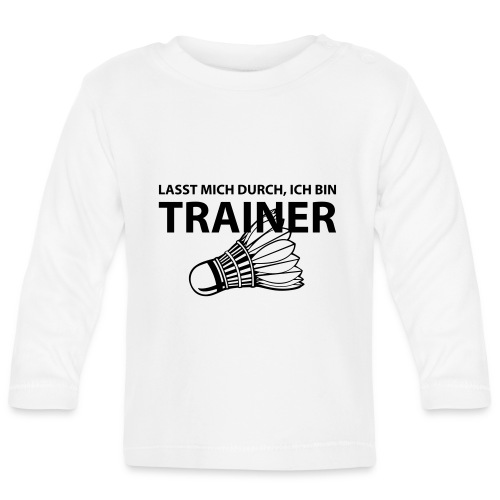 Trainer T-Shirt - Baby Langarmshirt