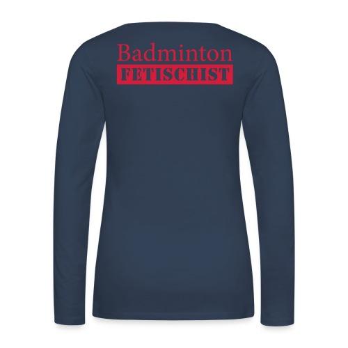 Fun Trikot - Frauen Premium Langarmshirt
