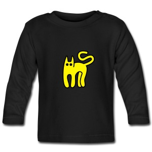 Blue cat - Baby Long Sleeve T-Shirt