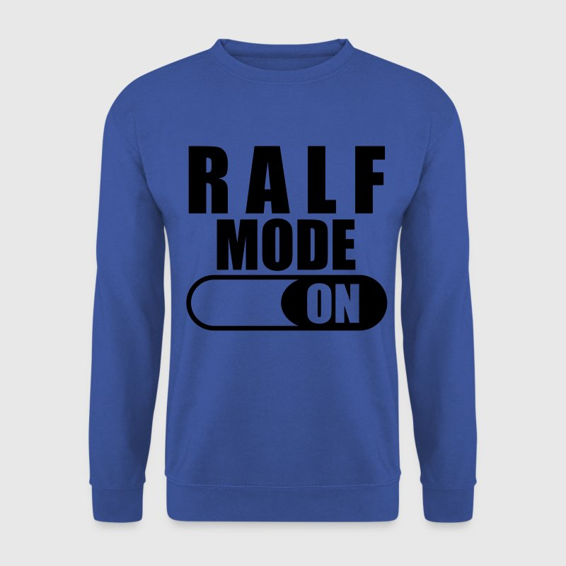 Ralf Mode ON Sweatshirt - Männer Pullover