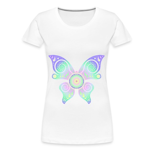 Flower Of Life - Butterfly - Frauen Premium T-Shirt