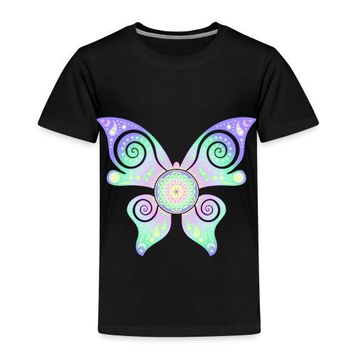 Flower Of Life - Butterfly - Kinder Premium T-Shirt