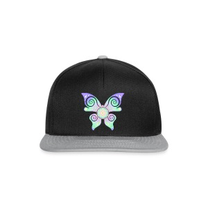 Flower Of Life - Butterfly - Snapback Cap
