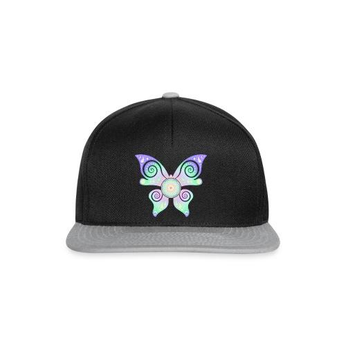 Flower Of Life - Butterfly - Snapback Cap