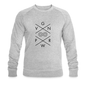 VGN PWR - Vegan Power Forever T-Shirts - Men's Sweatshirt by Stanley & Stella