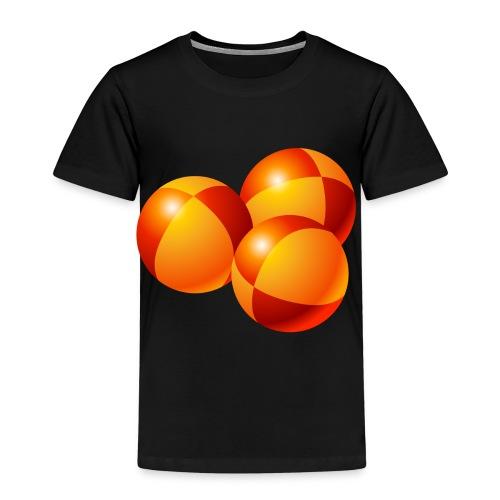 Kids' Premium T-Shirt - passing cascade. balls,juggling,jugglers,juggle,clubs