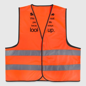 Short People T-Shirts - Reflective Vest