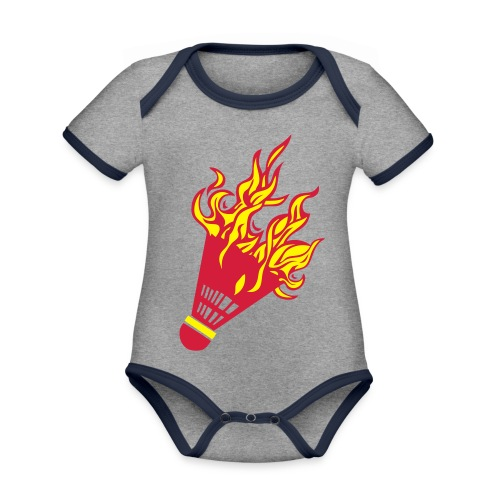 Kochschürze - Baby Bio-Kurzarm-Kontrastbody