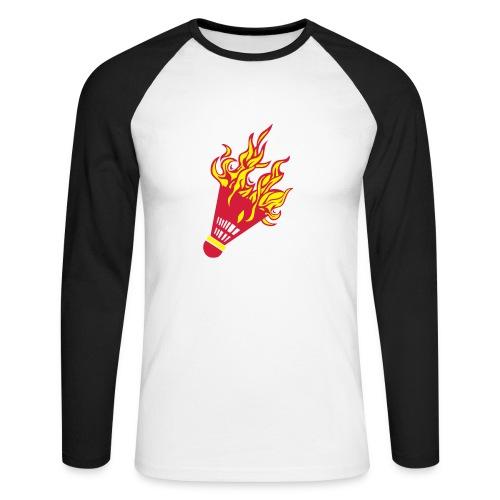 Kochschürze - Männer Baseballshirt langarm