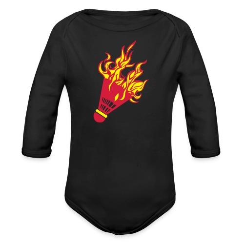 Kochschürze - Baby Bio-Langarm-Body