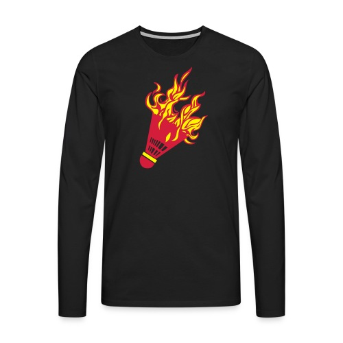 Kochschürze - Männer Premium Langarmshirt