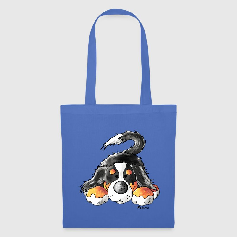 Cute Bernese Mountain Dog - Dogs Bags & Backpacks - Tote Bag