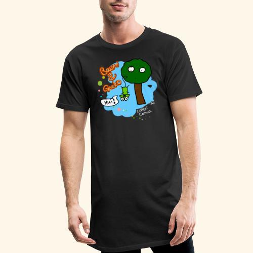 Baumi & Gecko - Männer Urban Longshirt