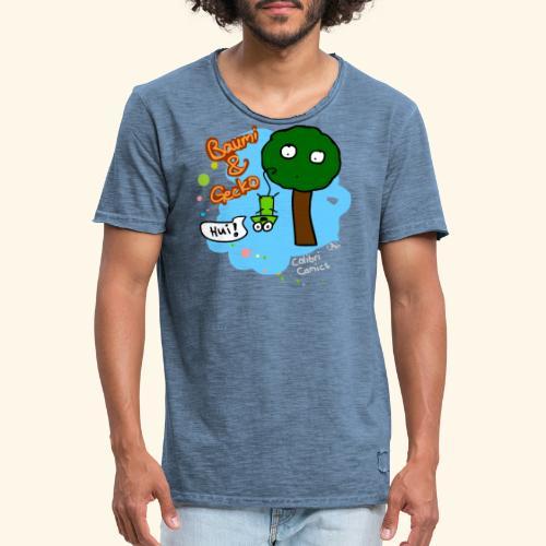 Baumi & Gecko - Männer Vintage T-Shirt