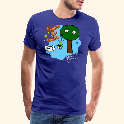 Baumi & Gecko - Männer Premium T-Shirt