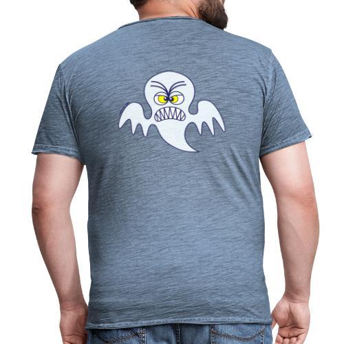 Scary Halloween Ghost Hoodies & Sweatshirts - Men's Vintage T-Shirt