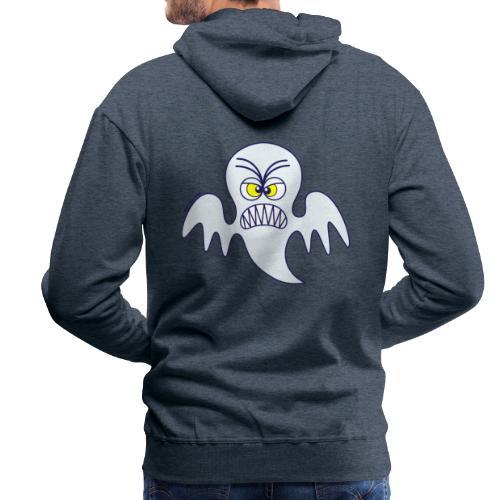 Scary Halloween Ghost Hoodies & Sweatshirts - Men's Premium Hoodie