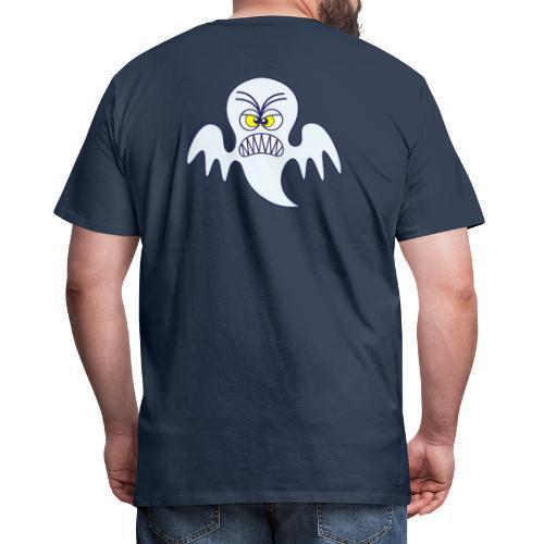 Scary Halloween Ghost Hoodies & Sweatshirts - Men's Premium T-Shirt