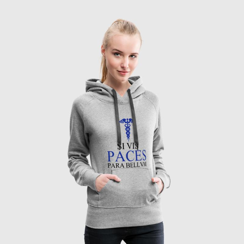 PACES Sweat-shirts - Sweat-shirt à capuche Premium pour femmes