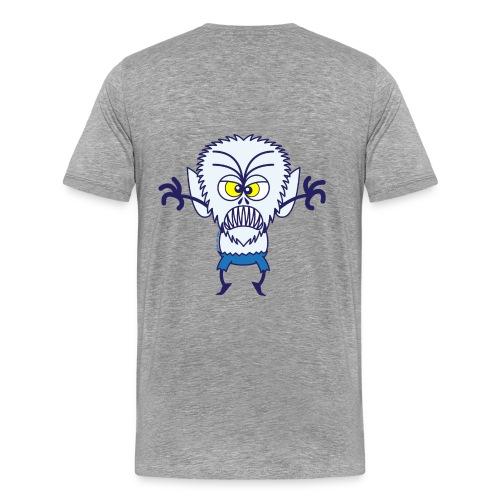 Scary Halloween Werewolf Hoodies & Sweatshirts - Men's Premium T-Shirt