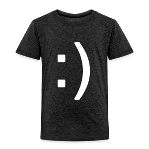 Happy smiley face in text - Kids' Premium T-Shirt