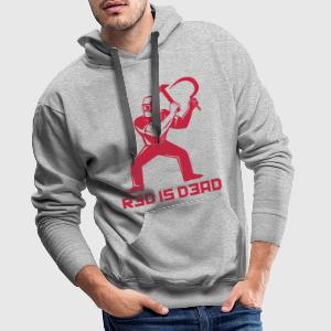 Red is Dead Tee shirts - Sweat-shirt à capuche Premium pour hommes