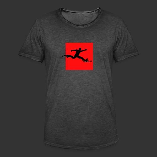 Powerriser - Männer Vintage T-Shirt