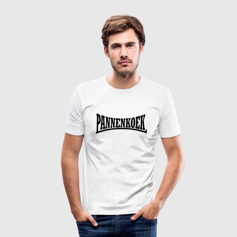 Wit Hardcore Pannenkoek T-shirts - slim fit T-shirt