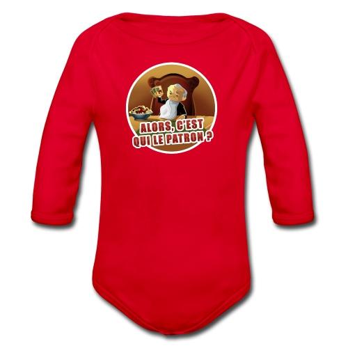 T-Shirt « Poker Mafia » (couleur au choix) - Body bébé bio manches longues