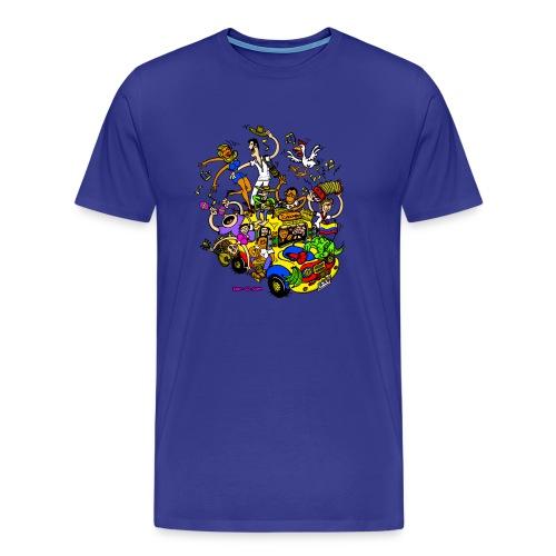 Chiva Colombiana - Men's Premium T-Shirt