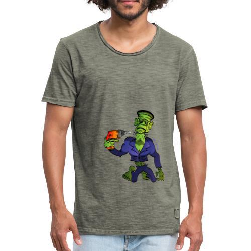 Franky Says Goodbye - Men's Vintage T-Shirt