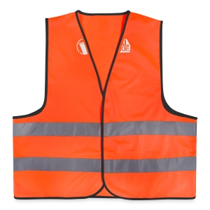 NJJ Hoodie (Ladies - White) - Reflective Vest