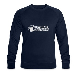 NJJ Hoodie (Mens - White) - Men's Organic Sweatshirt by Stanley & Stella