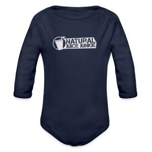 NJJ Hoodie (Mens - White) - Organic Longsleeve Baby Bodysuit