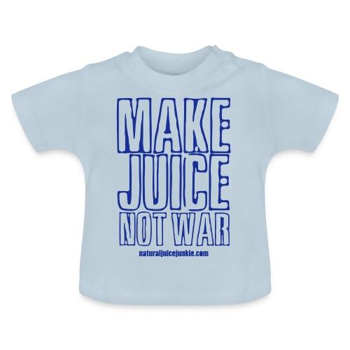 NJJ Hoodie (Mens - Make Juice Not War) - Baby T-Shirt