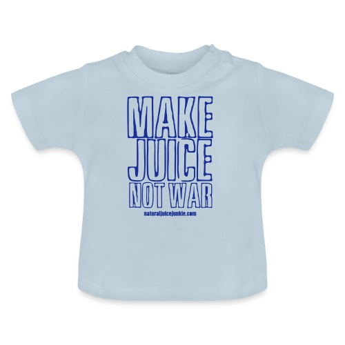 NJJ Hoodie (Mens - Make Juice Not War) - Baby T-Shirt